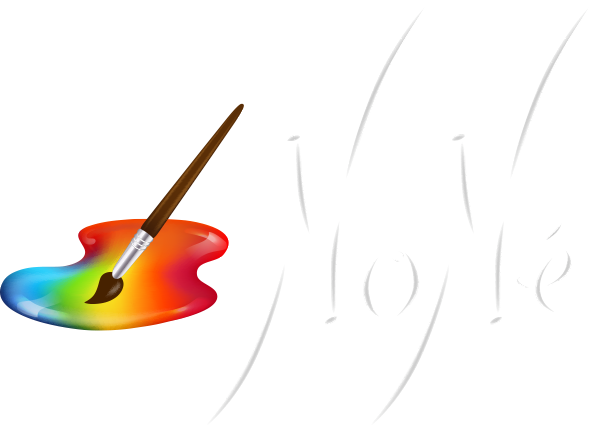 None Arte Abstracto Logo